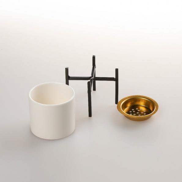 encensoir noir minimalist decompo